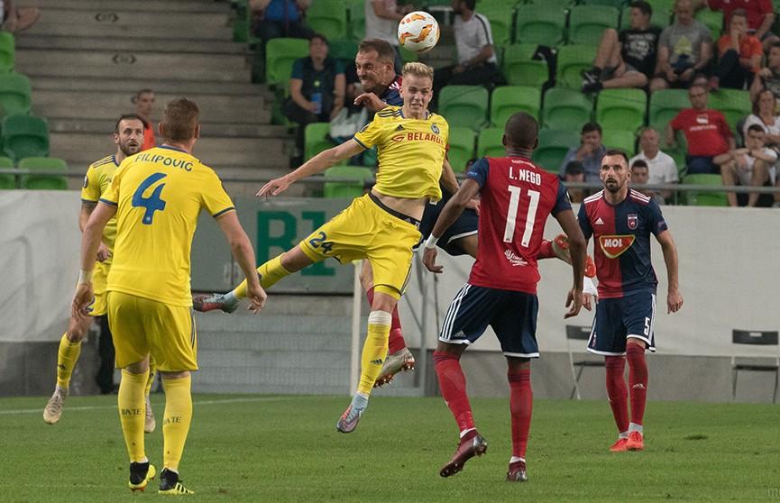 Лига Европы: БАТЭ обыграл венгерский «МОЛ Види» на старте групповой стадии