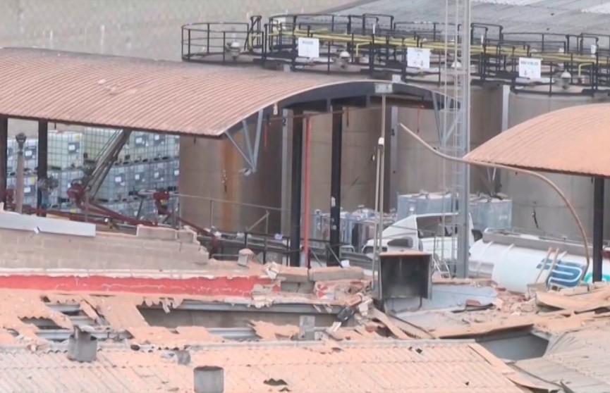 Взрыв на химзаводе в Барселоне: один человек погиб, 19 пострадали