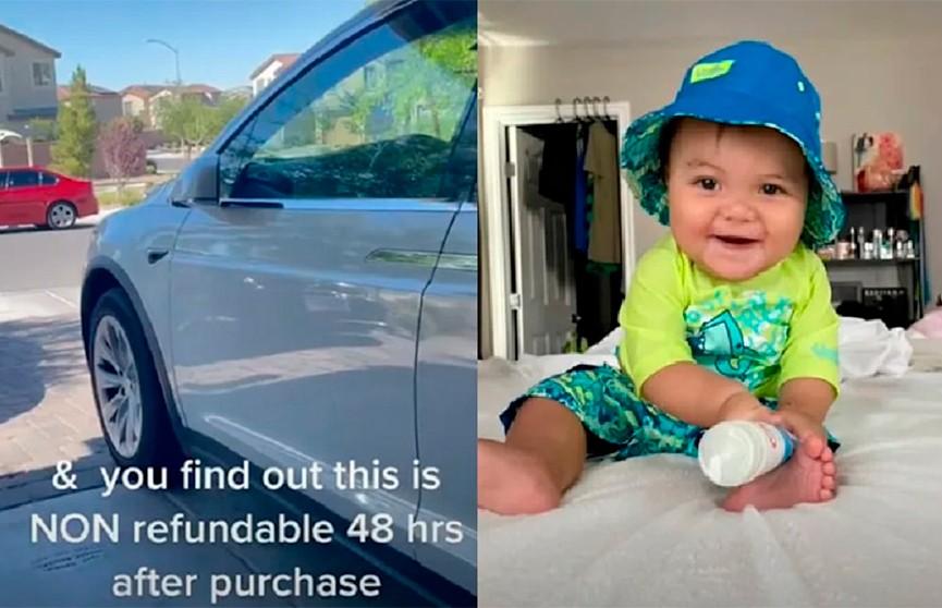 В США 10-месячный ребенок закупился обновлениями для Tesla родителей на $10 тыс.