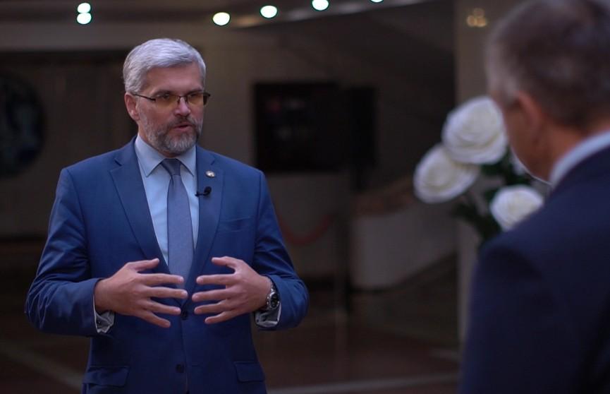 Управленец должен быть настоящим патриотом – ректор Академии управления при Президенте Данилович