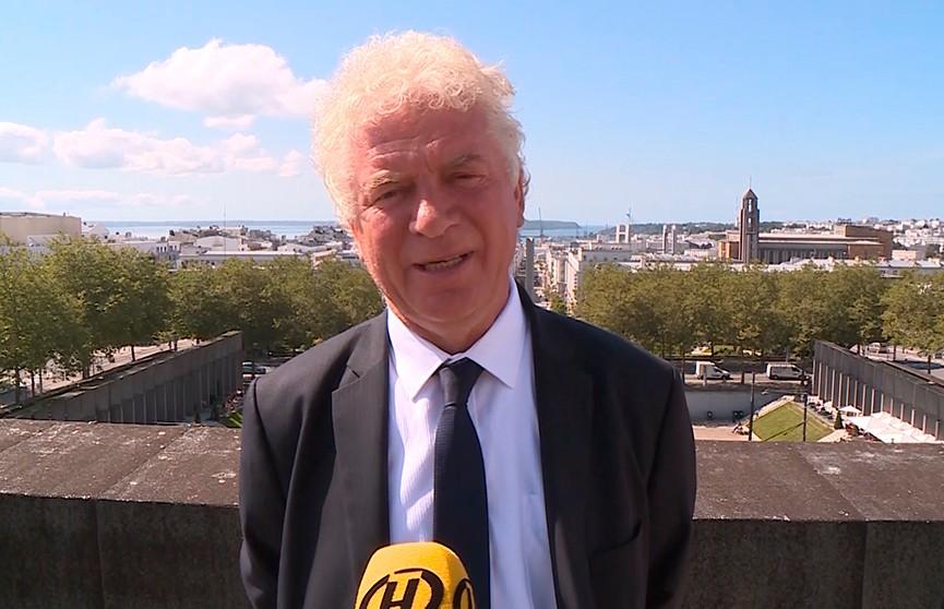 Мэр французского Бреста поздравил белорусских брестчан с 1000-летием города (ВИДЕО)