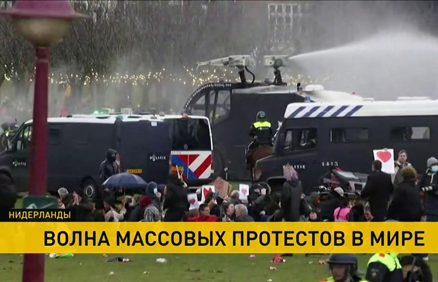 Массовые протесты под различными предлогами охватывают новые страны