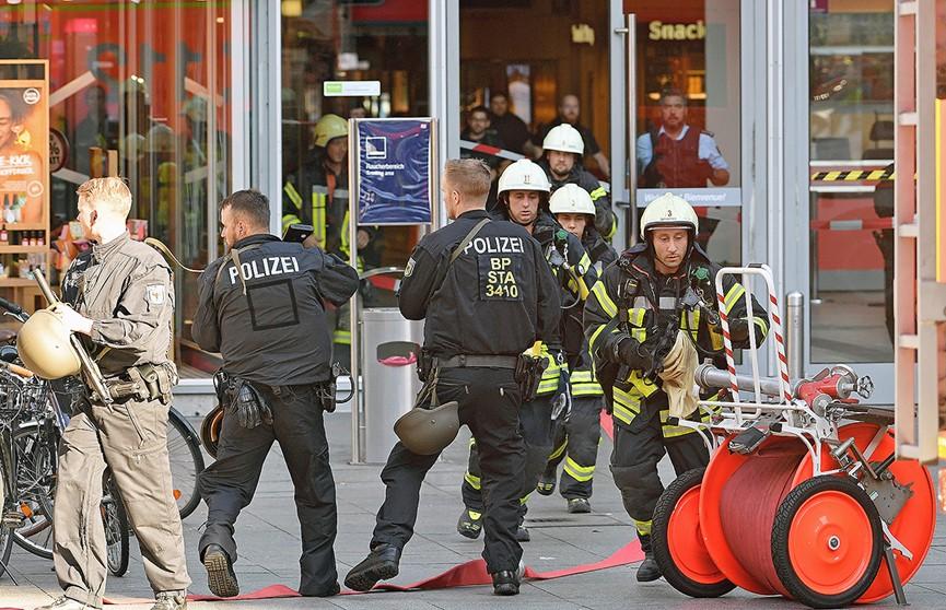 Преступника, захватившего заложницу в Кёльне, обезвредила полиция