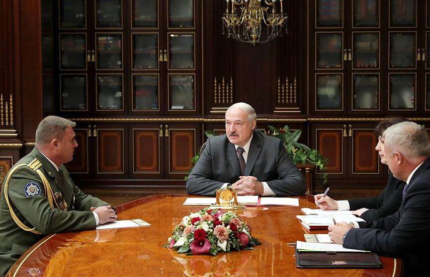 Александр Лукашенко назначил командующего внутренними войсками
