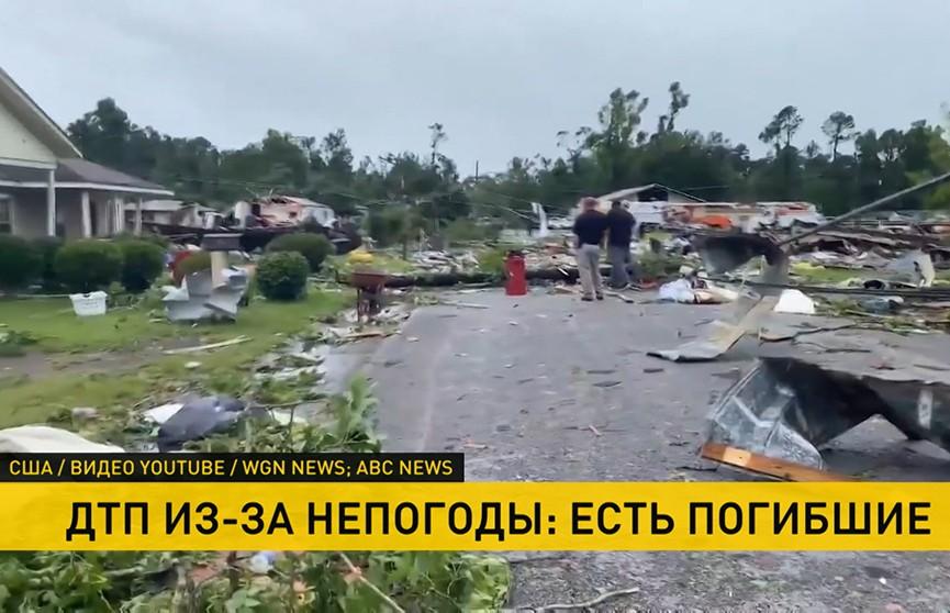 В США 12 человек стали жертвами шторма «Клодетт»