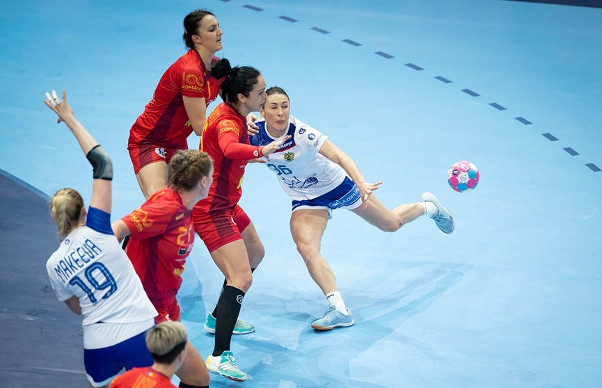 Титул чемпионок Европы по гандболу разыграют россиянки и француженки
