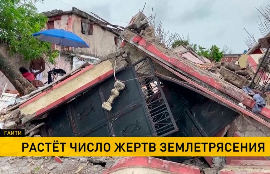 Число жертв землетрясения на Гаити возросло до 2 189