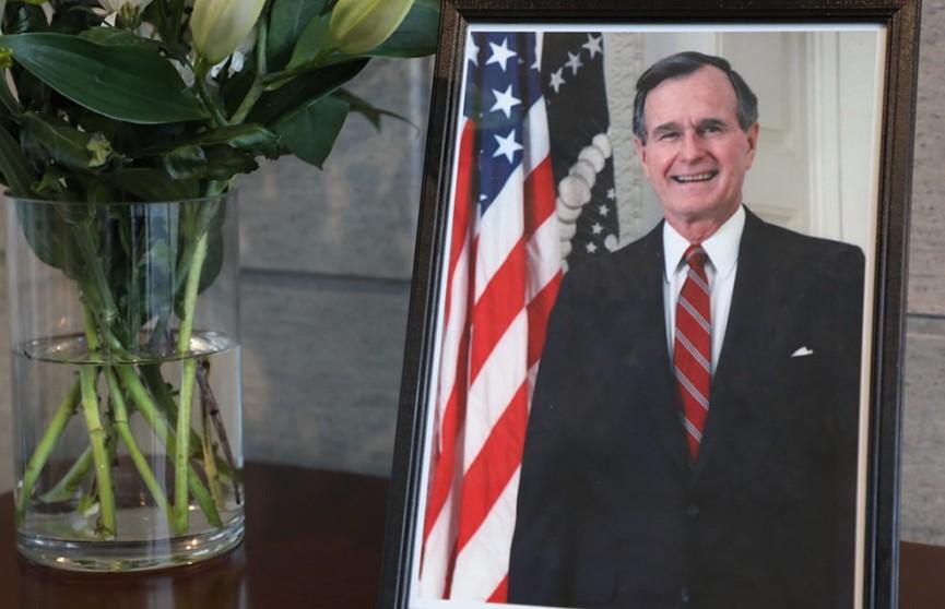 День траура объявлен в США в связи с похоронами Джорджа Буша-старшего