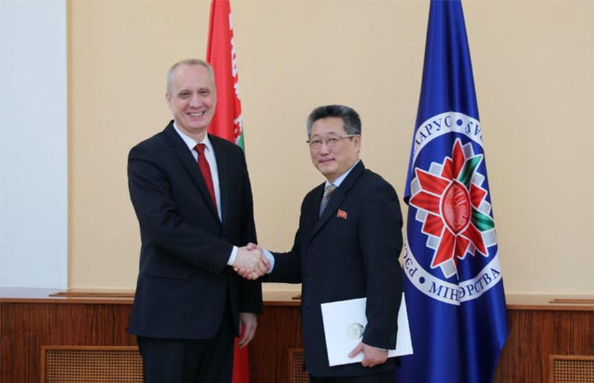 Посол КНДР впервые в истории начал работать в Беларуси