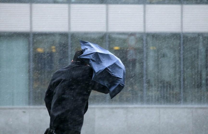 Штормовое предупреждение объявлено на 8 июля. Ожидаются сильный ветер и грозы