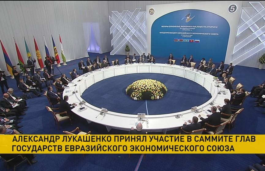 Лукашенко о ЕАЭС: Необходимо создавать равные условия во всех сферах, включая энергетику