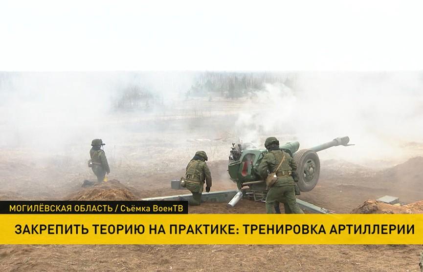 Курсанты факультета ракетных войск и артиллерии Военной академии Беларуси выехали на полигон для боевой стрельбы