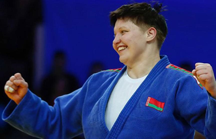 Белоруска Марина Слуцкая завоевала золотую награду на турнире серии Большого шлема по дзюдо в ОАЭ