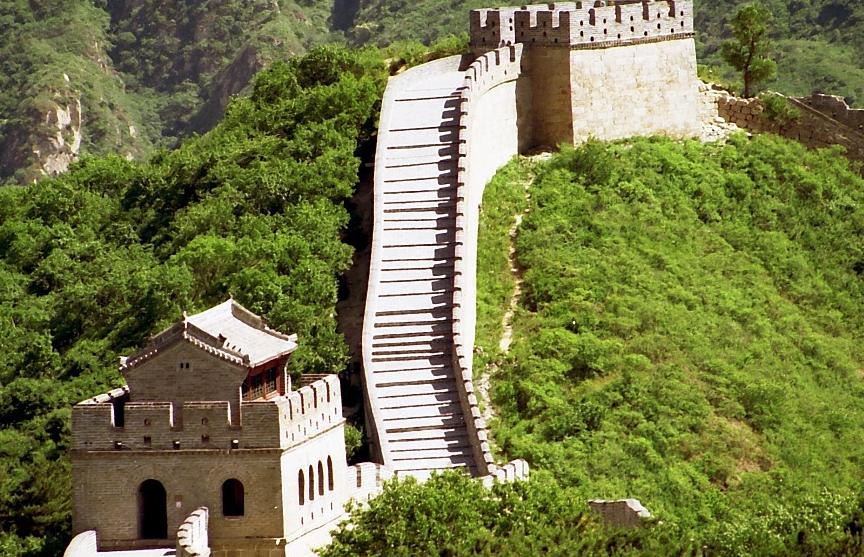 Древний участок Великой Китайской стены реставрируют в Пекине