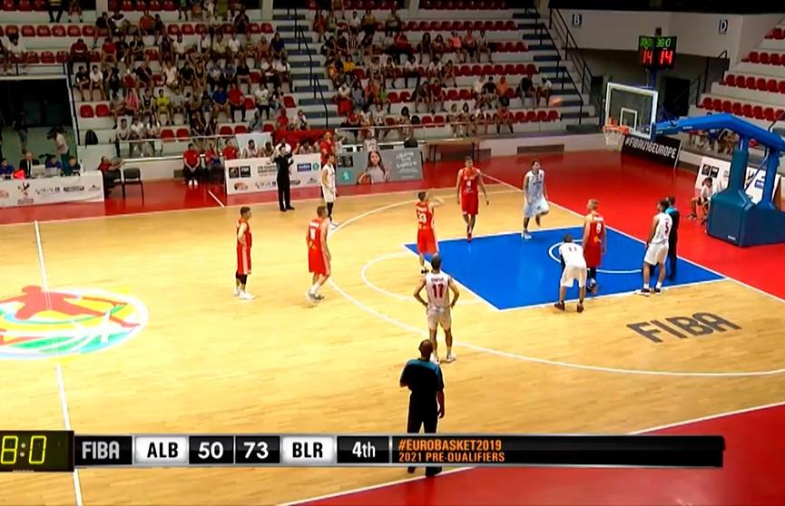 Баскетболисты сборной Беларуси с победы стартовали во втором раунде квалификации чемпионата Европы