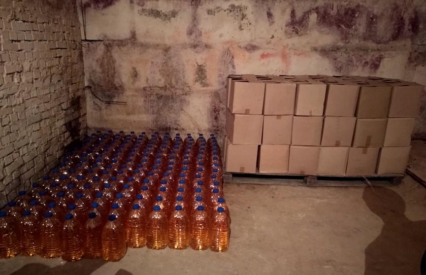 Партию спиртосодержащей жидкости изъяла милиция в Барановичах