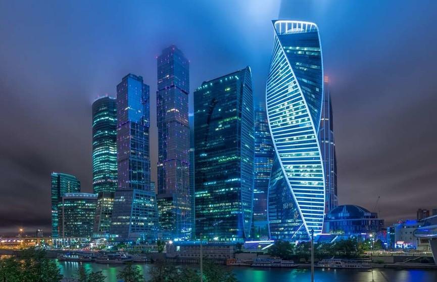 Часть конструкций упала с башни «Око» комплекса «Москва-Сити»