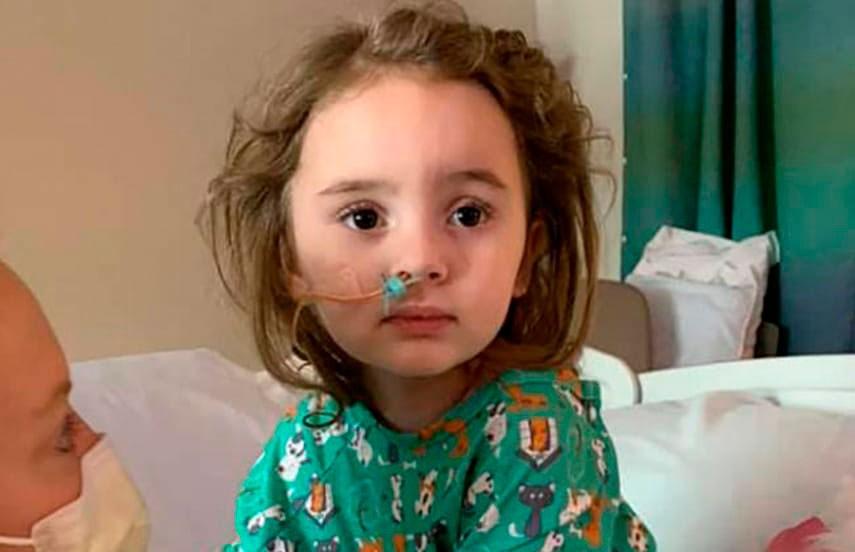 Грипп обернулся потерей зрения для 4-летней девочки из США