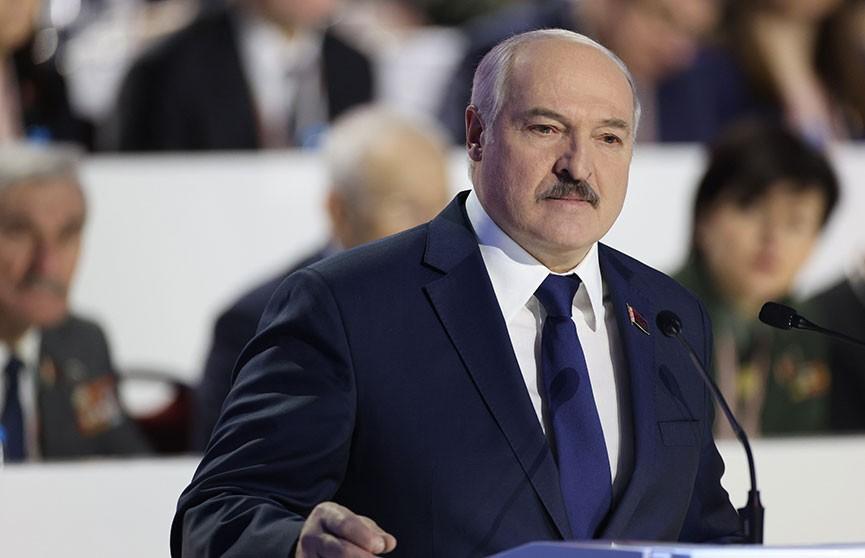 Доклад Александра Лукашенко на VI Всебелорусском народном собрании. Главное