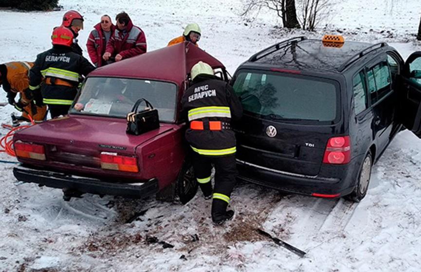 ДТП с такси в Узденском районе: есть пострадавшие