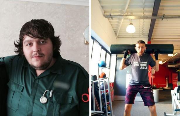 24-летний парамедик весом 158 кг похудел почти вдвое ради пациентов