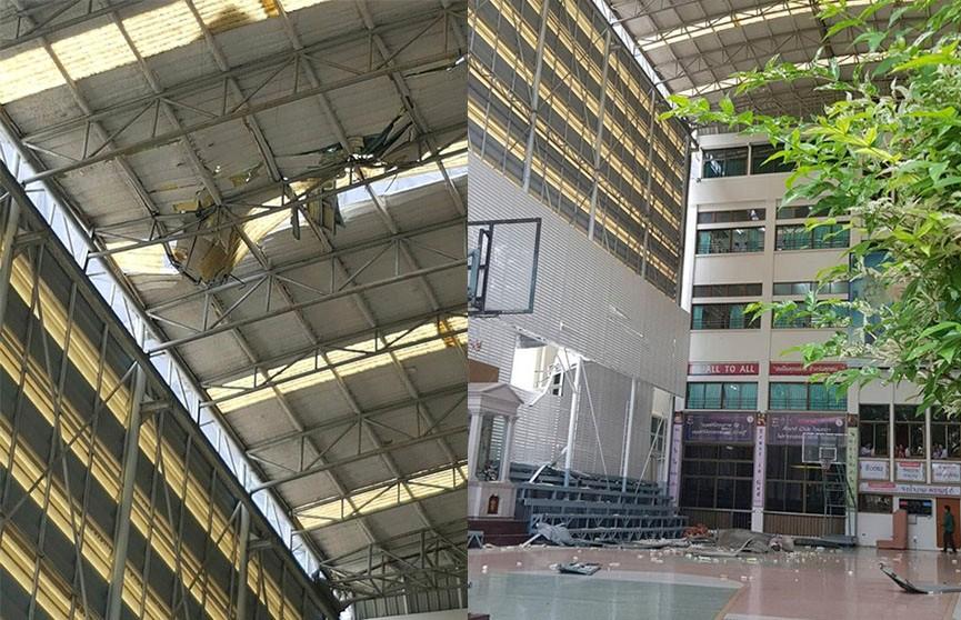 Пострадали десять учениц в результате обрушения строительного крана в Бангкоке
