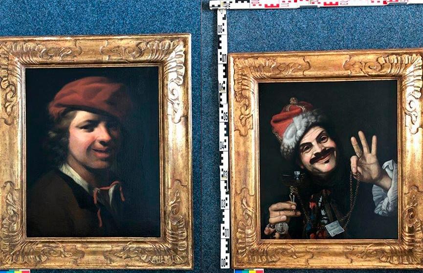 В Германии в мусорном баке нашли картины XVII века