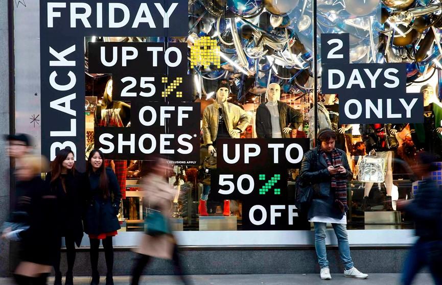 Американцы потратили $6,2 млрд в интернет-магазинах в «чёрную пятницу»