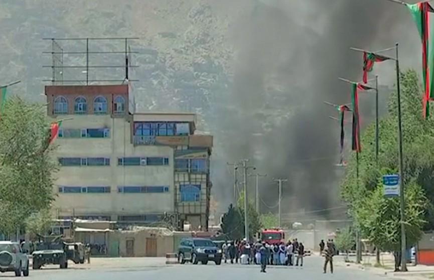 В Кабуле вслед за ракетным ударом прогремел взрыв