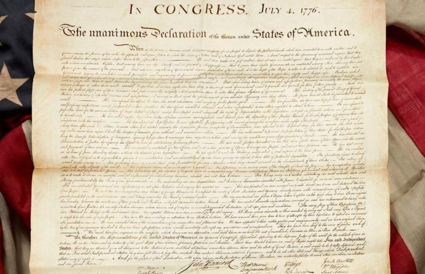Женщина нашла на чердаке Декларацию независимости США и стала миллионершей