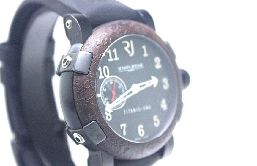Часы с фрагментом «Титаника» продали по дешевке