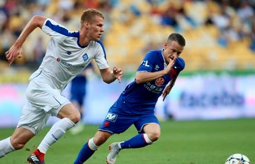 Киевское «Динамо» обыграло «Славию» и вышло в плей-офф Лиги чемпионов
