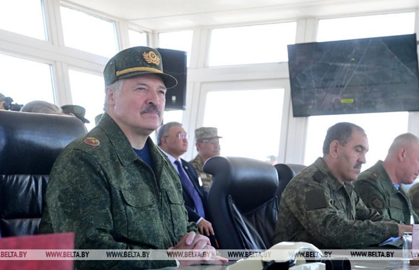 Лукашенко на учении «Запад-2021»: Мы готовы сделать все для мира в Отечестве и безопасности в регионе