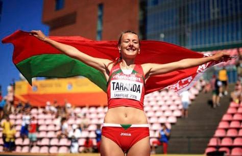 Белоруска Кристина Таранда заняла второе место в прыжках в высоту