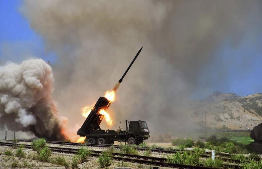 В КНДР испытали сверхгабаритную систему залпового огня