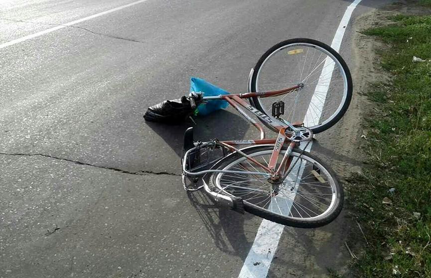Фура насмерть сбила пожилую велосипедистку в Каменецком районе