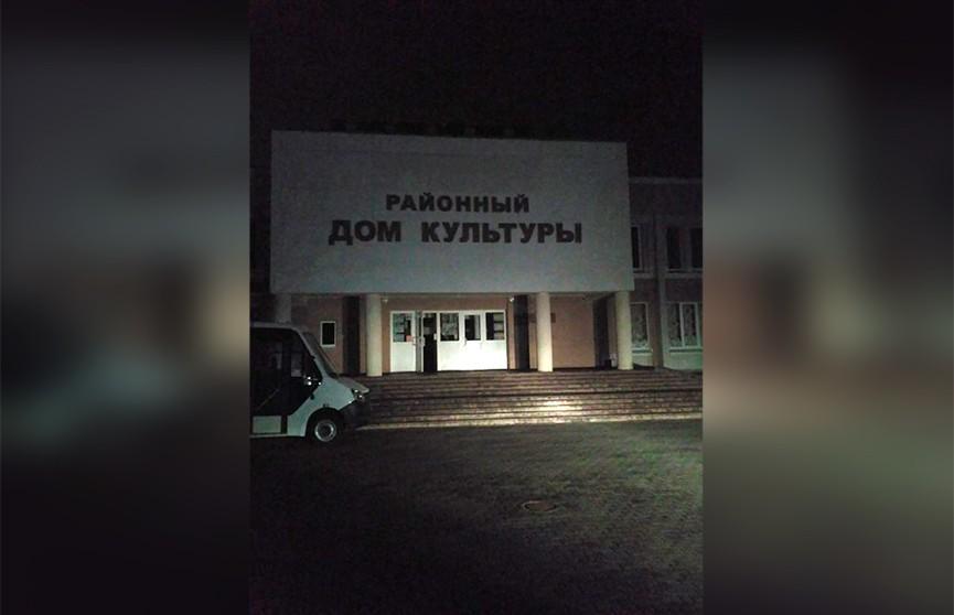 В Брестском районе сгорел Дом культуры, пострадавших нет