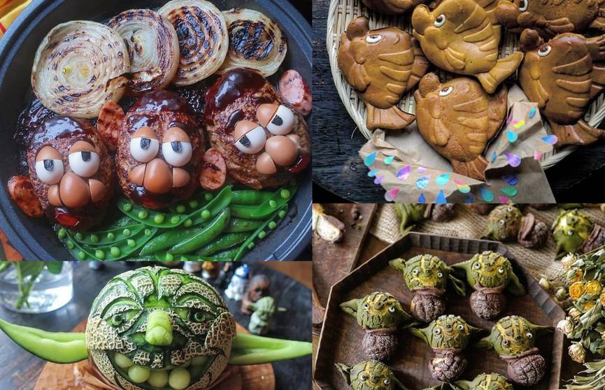 Мама оформляет блюда для детей в виде персонажей из мультиков. Выглядит это нереально! Как вам 3-е фото?