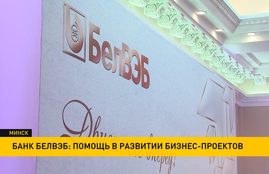Банк БелВЭБ: приоритетные направления работы – помощь в развитии значимых бизнес-проектов