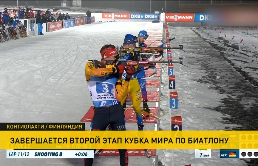 Сборная Норвегии выиграла эстафету на этапе КМ по биатлону в Контиолахти