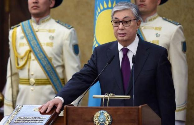 Новый президент Казахстана Касым-Жомарт Токаев принёс присягу своему народу