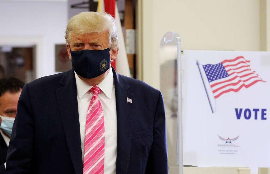 «Голосовал за парня по имени Трамп!»: Президент США проголосовал досрочно