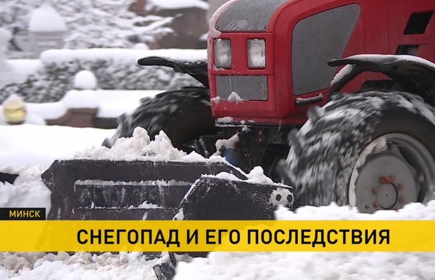 ДТП, обесточенные города и села: последствия погоды устраняют в Беларуси