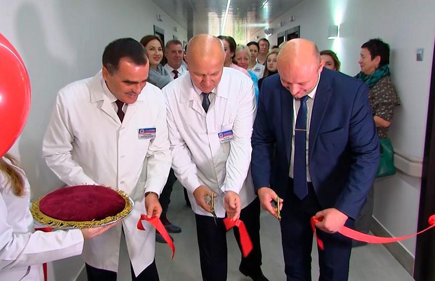 Нейрохирургическое отделение открылось после реконструкции в Брестской областной больнице