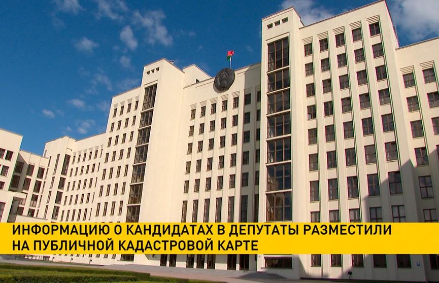 Информацию о кандидатах в депутаты разместили на публичной кадастровой карте