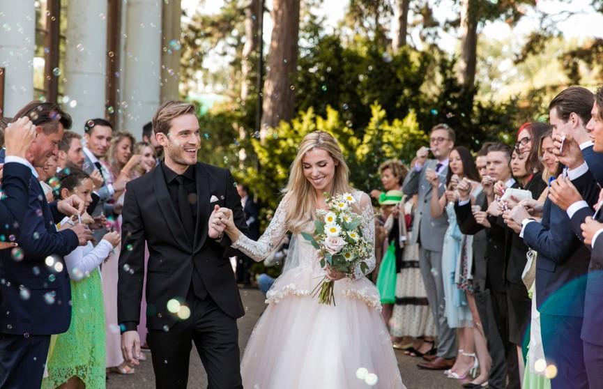Самый популярный YouTube-блогер женился