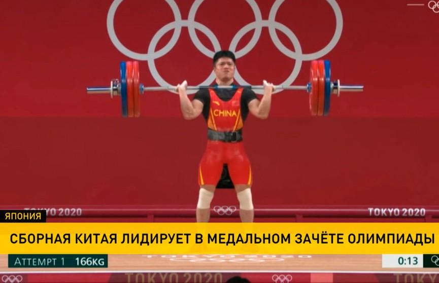 Олимпиада в Токио: китаец Фабин Ли выиграл золотую медаль в весовой категории до 61 кг