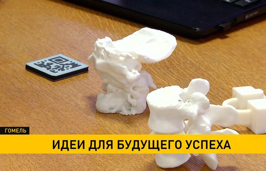 «100 идей для Беларуси»: молодые ученые и новаторы Гомельской области представили свои разработки