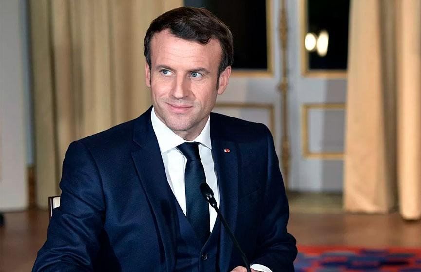 Макрон рассказал о «первой победе» Франции над коронавирусом