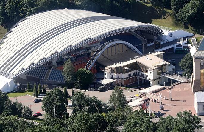 «Славянский базар в Витебске»: как строили летний амфитеатр – визитную карточку города?